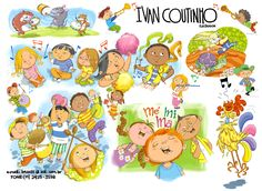 Blog do ilustrador IVAN COUTINHO - UOL Blog  Ilustrou Col. Porta Aberta