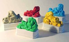 Allan McCollum. Allégories, 2000. Stone, polyester resin, pigment. Five new copies of five deteriorated and mutilated 18th century statues from the grounds of the abandoned Chõteau Bonnier de la Mosson, Montpellier, France, installed at the site of Le Corum, the city of Montpellier's new cultural center. For the City of Montpellier.