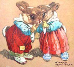 "HARRY ROUNTREE ""Wog & Wig illustration 1947"