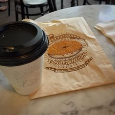 World's freshest donuts didn't make it for the picture.  #coffee #espresso #cappuccino #donuts #sidecardoughnuts