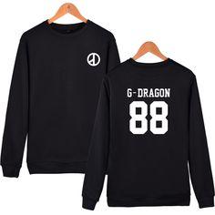 Hot Sale Bigbang Cotton Casual Harajuku Sweatshirt Winter Warm All-match Mens Hoodies And  Brand Designer Mens Sweatshirt #Affiliate