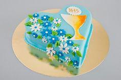 Tort Komunijny serce Porcja 14 – waga 1300g- 1700g Porcja 18 – waga 1800g- 2300g Porcja 24 – waga 2400g- 3000g