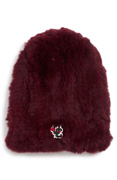 a8064c0f5b1 Free shipping and returns on Undercover Genuine Rabbit Fur Beanie at  Nordstrom.com. Stay