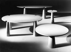 Marble Tables, Angelo Mangiarotti