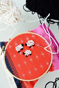 DIY: french knot