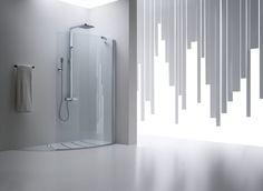 BOX DOCCIA//Photo by Photografica  #box #bathroom #arblu #design #bagno #doccia #shower #white #ambient #atmosphere