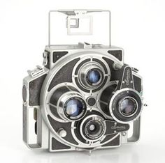 Tiranty Summa Report Very rare Italian press Twin lens paired camera for 6x9cm. Two pairs of lenses on a turret, let you choose two picture angles. Year: 1955 http://minivideocam.com/choosing-the-right-digital-recording-camera-for-you-and-your-family/