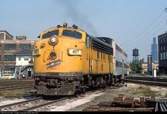 RailPictures.Net Photo: CNW 407 Chicago & North Western Railroad EMD F7(A) at Chicago, Illinois by Marty Bernard