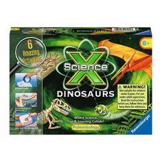 Science X Mini Dinosaurs Kit by Ravensburger, Multicolor