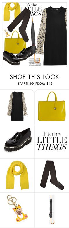 """Little Things"" by biange ❤ liked on Polyvore featuring Love Moschino, Furla, Suecomma Bonnie, DOUUOD, Raey and Ted Baker"