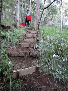 stairs on steep hillsides - Bing images More
