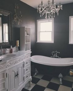Photo gothic home в 2019 г. bathroom, gothic bathroom и dream bathrooms. Dark Home Decor, Goth Home Decor, Gypsy Decor, Gothic Chic, Gothic Mansion, Gothic House, Dark Bathrooms, Dream Bathrooms, Gothic Bathroom Decor