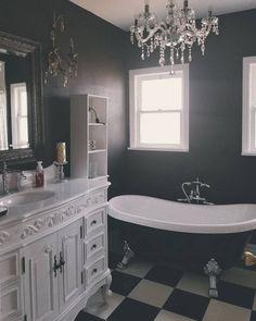 Photo gothic home в 2019 г. bathroom, gothic bathroom и dream bathrooms. Gothic Bathroom Decor, Bathroom Interior Design, Gothic Bedroom, Interior Office, Dark Home Decor, Goth Home Decor, Gypsy Decor, Gothic Chic, Gothic Interior