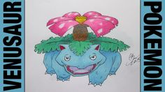 Drawing Time Lapse: Venusaur (Pokemon) ポケットモンスター || #003