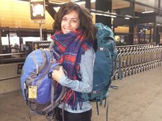How I packed for a year in a carry on backpack. Detailed travel packing list of a female digital nomad.