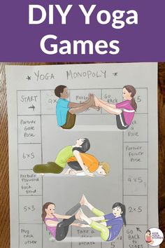 Ready to bring yoga even more alive with fun games! These yoga games were designed using common games you probably already have at home or classroom. Kids Yoga Poses, Yoga For Kids, Home Games For Kids, Activities For Kids, Yoga Bewegungen, Yoga Games, Kinesthetic Learning, Family Yoga, Yoga Lessons
