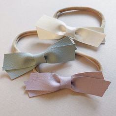 Faux Leather Crossover Set / Pastels