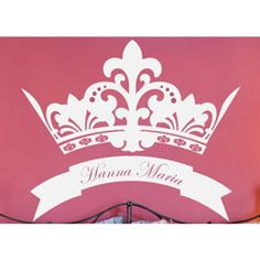 Royal Crown Wall Decal Wall Decals - LuxuryLamb.Com