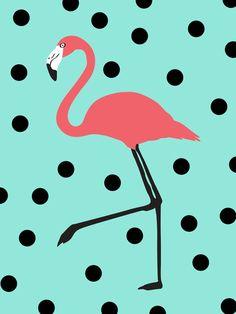 Flamingo Fever Art Print by Karen Hofstetter