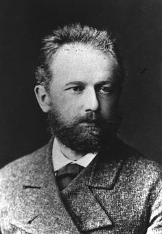 Petr Chaikovsky [Пётръ Ильичъ Чайковскiй] (1840-1893), photograph (1877), by Ivan Dyagovchenko [Иванъ Григорьевичъ Дьяговченко] (1835-1887).