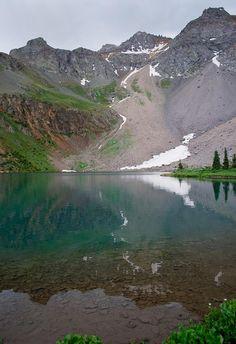 Lower Blue Lake, San Juan Mountains, Colorado