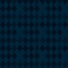Blue Harlequin Dark Grey Diamond fabric by bohobear on Spoonflower - custom fabric