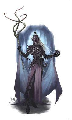 f Drow Elf Cleric RPG RULES : Foto