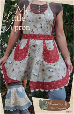 craftygal table - Instructions for Making a Retro Kitchen Apron