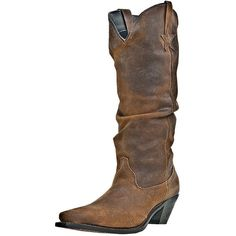 Women's Muse Boot Brown ($138) ❤ liked on Polyvore