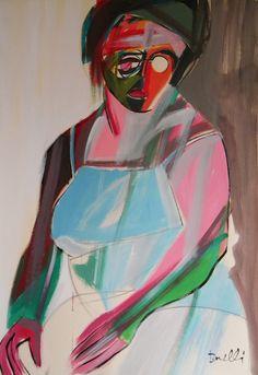 Ritratto di Luana Ghidotti. Portrait of Luana Ghidotti. 1994. Gabriele Donelli