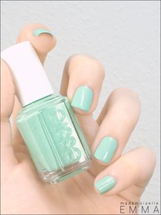 Essie - Mint Candy Apple. My favorite color!