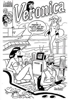 Archie Comics Coloring Pages 01 Color Draw Pinterest Comic Coloring Pages