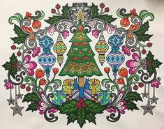 ColorIt Free Coloring Pages Colorist: Instagram user (@sherrylynn126) #adultcoloring #coloringforadults #adultcoloringpages #FreeChristmasPages