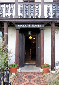 BROADSTAIRS, ENGLAND l Charles Dickens life is celebrated through memorabilia and exhibits at the Dickens House in Broadstairs, Kent. Broadstairs Kent, Andalusia, Southampton, Around The Worlds, Libraries, Museums, Writers, Outdoor Decor, Books