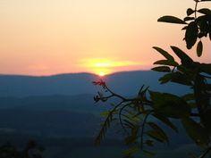 Writer's Wanderings: Big Walker Lookout, Blue Ridge Mountains
