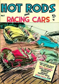 Hot Rods and Racing Cars #7