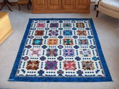 "Mary has finished her POTC-top - she used the 90° 1"" Hexagon Collection."
