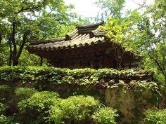 Traditional structure, Seoul, S.Korea.