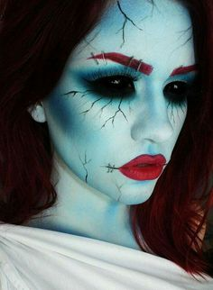halloween top 25 mind blowing and scary makeup ideas for women - Quick Scary Halloween Costumes