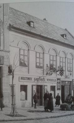 Stará Bratislava Bratislava Slovakia, Old Street, Old City, Nostalgia, Street View, Exterior, Black And White, Travelling, Outdoor