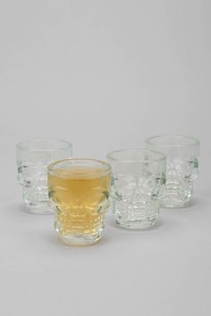 Skull Shots - Set of 4 - Urban Outfitters
