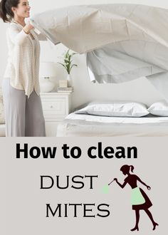 How to Clean Dust Mites - healthyofnews House Cleaning Tips, Cleaning Hacks, Dust Mite Allergy, Allergy Shots, How To Clean Furniture, Furniture Cleaning, Homemade Cleaning Supplies, Vitamin Deficiency