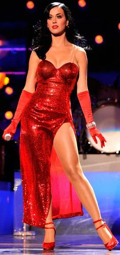 Katy Perry looking good in red! More sexy women models at http://www.sexy-calendars.net
