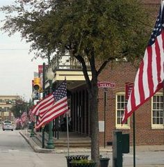 Grapevine, Tx...great little getaway weekend: we love the food, eclectic wine bars, and quaint shopping on Main St.