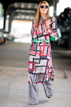 All the NYFW Street Style from the Spring '16 Shows - Anna Dello Russo
