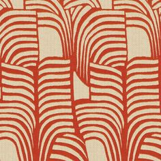 Zébrures takes its inspiration from a zebra's coat. The stripes form a wave, like palm leaves in the wind. The motif appears in the cotton weft over a silk chevron background which gives this jacquard fabric texture and contrast. Motifs Textiles, Textile Patterns, Textile Prints, Textile Design, Fabric Design, Print Design, Lino Prints, Block Prints, Art Print