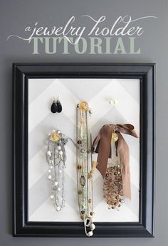 A Jewelry Holder Tutorial