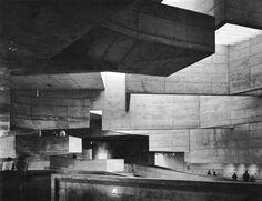 Fluorescent Black / Marc Scott-West - fuckyeahbrutalism: University Arts Center,...