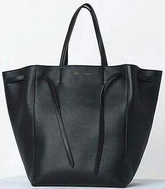 ea69f0427d7b Céline Cabas Phantom Tote in black