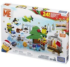 Mega Bloks Minions Movie Advent Calendar #deals